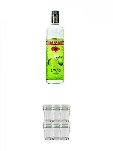 Velho-Barreiro-Lime-Cachaca-10-Liter-Velho-Barreiro-Caipirinha-Glas-6-Stck