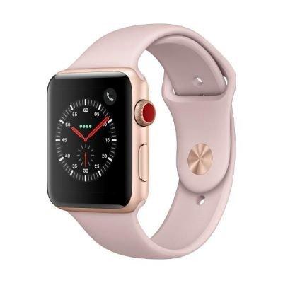 Apple-Watch-Series-3-42-mm-GPS-Cellular-Aluminium-Gehuse-Gold-mit-Sport-Armband-Sandrosa-2017