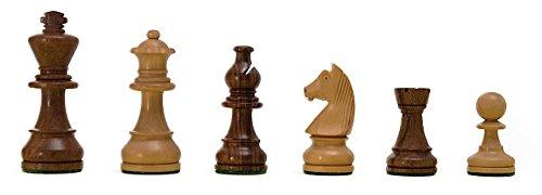 ROMBOL-Schachfiguren-Silas-KH-70-Staunton-Design-Holz-Ahorn-im-Polybeutelbeutel