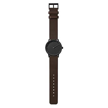 LEFF-amsterdam-T40-Watch-Edelstahl-Schwarzes-Gehuse-Quarzuhrwerk