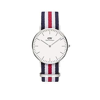 Daniel-Wellington-Canterbury-Silver-Uhr-Damen-Armbanduhr-Mehrfarbig-0606DW-NEU