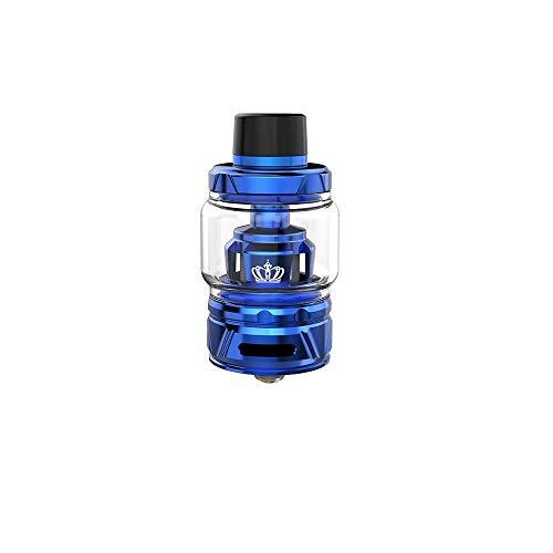 Original Uwell Crown 4/IV Tank 6ml Innovative Patentierte Selbstreinigungstechnologie, Kein Durchsickern- Ohne Nikotin Ohne Tabak (Blau)