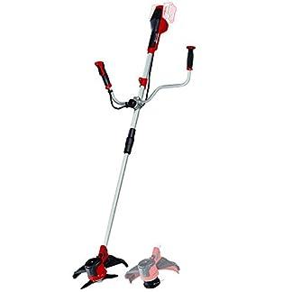 Einhell-Akku-Sense-AGILLO-Power-X-Change-Li-Ion-2-x-18-V-max-Drehzahl-6300-min-1-max-Schnittbreite-30-cm-Front-Motor-Fadenspule-mit-Tippautomatik-3-Zahn-Messer-ohne-Akku-und-Ladegert