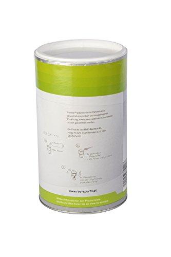 RoC-Sports Bio Elektrolytgetränk Zitrone | 100% Bio | Kohlenhydratmischung mit Elektrolyten für Ausdauer und Konzentration | keine Farbstoffe, Aromen