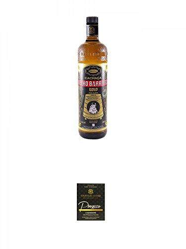 Velho-Barreiro-Gold-Cachaca-10-Liter-Chateau-du-COQ-Prosecco-Kondom-3er-Packung