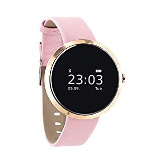 X-WATCH-54008-SIONA-XW-FIT-Damen-Smartwatch-Activity-Tracker-fr-Android-und-Apple-iOS