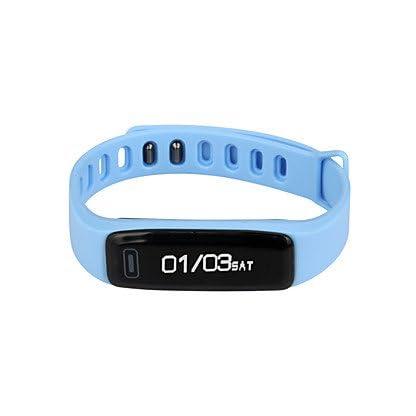 Lemumu-X2-G15-Mens-Frau-Bluetooth-Schickes-ArmbandSmar-twatchSport-Schrittzhler-fr-Ios-Android-Telefon-Rot