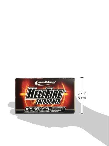 IronMaxx Hellfire Fatburner Box, 60 Kapseln
