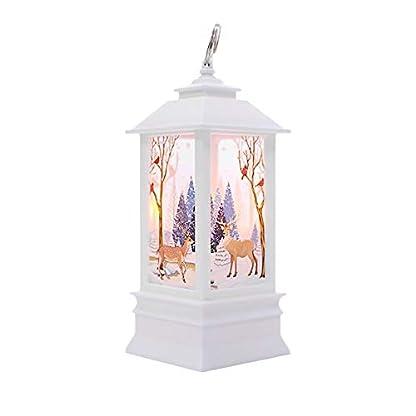 Weihnachtskerze-mit-LED-Tee-licht-Kerzen-fr-Weihnachtsdekoration-Teil-Au-Hnliche-Beleuchtet-Adventsschmuck