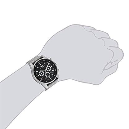 Rhodenwald-Shne-Goodwill-Herrenuhr-Chronograph-Edelstahl-grau-grau-5-ATM-Przisions-Quarzwerk-Stoppuhr-Totalisatoren-Edelstahlarmband-Milanaise-grau-Armbanduhr-Quarzuhr-analog-Milanaise-Armband