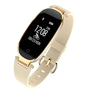 Frauen-Smart-Armband-JIAMEIYI-Fitness-Tracker-Pulsmesser-Wasserdicht-Aktivitt-Tracker-Smart-Band-Schlaf-Monitor-Smart-Watch-Schrittzhler-Armband-fr-iOS-Android-Handys
