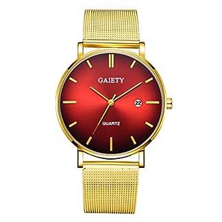 Armbanduhr-Men-Liusdh-Uhren-Mode-lssig-Kalender-einfach-zurckhaltend-Geschft-Meshband-Strap-Herrenuhr