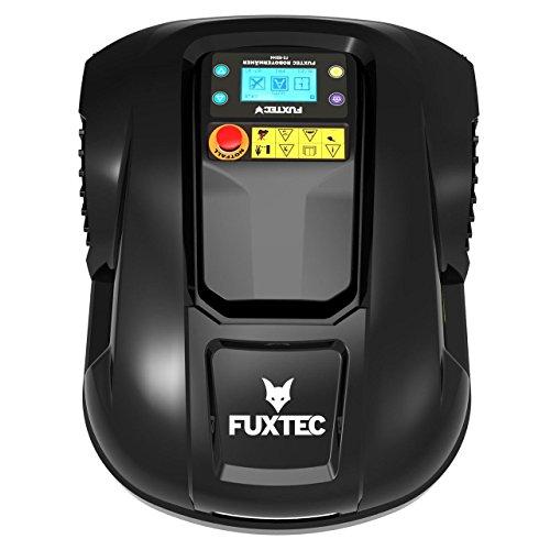 FUXTEC-Mhroboter-FX-RB144-Akku-Rasenmher-ideal-zum-mhen-von-Flchen-bis-1500m-auch-bei-Regen-Gewicht-16-kg-Anti-Diebstahlschutzautomatische-oder-manuelle-Steuerung-per-App-fr-IOS-und-Android-ber-WiFi-m