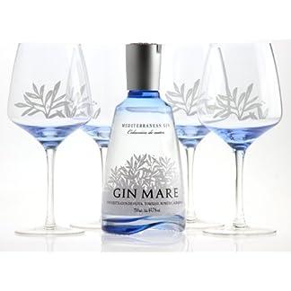 GIN-MARE-Mediterranean-Gin-700ml-427-vol-mit-4-Gin-Tonic-Ballonglsern