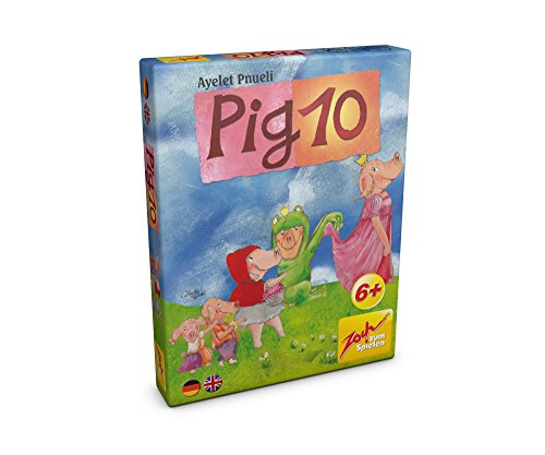 Noris-Spiele-Zoch-601105052-Pig-10-Kartenspiel