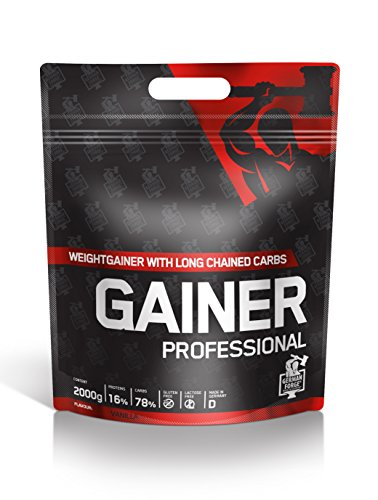 IronMaxx Gainer Professional, Vanille, 1er Pack (1 x 2 kg)