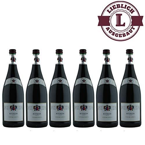 Rotwein-Vino-de-Espana-6x10l