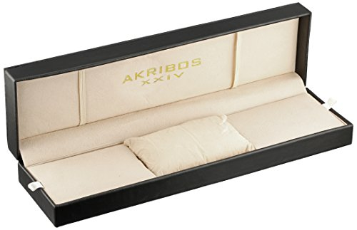 Akribos-XXIV-Herren-Conqueror-Groe-Diver-s-Chronograph-mit-Edelstahl-Armband