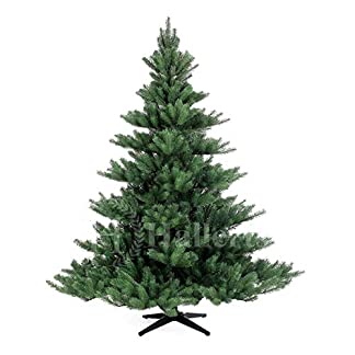 Original-Hallerts-Spritzguss-Weihnachtsbaum-Alnwick-180-cm-Nordmanntannne-Christbaum-zu-100-in-Spritzguss-PlasTip-Qualitt-schwer-entflammbar-nach-B1-Norm-Material-TV-und-SGS-geprft-Premium-Spritzgusst