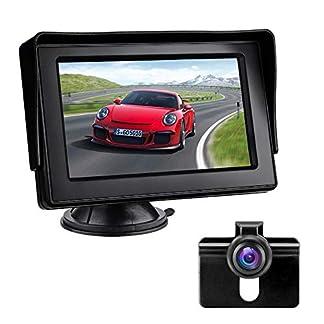 Rckfahrkamera-mit-Monitor-Auto-Rckfahrkamera-IP68-Wasserdicht-Nachtsicht-Einparkhilfe-System-43-LCD-Rckansicht-Bildschirm