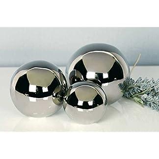 3tlg-Set-Dekokugeln-Silverball-aus-Keramik-567-cm