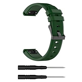 Armbnder-fr-Garmin-Fenix-5-Plus-22mm-Breite-VNEIRW-Silikon-Ersatzarmbnder-Ersatz-Uhrenarmband-Strangarmbnder-Uhrarmbnder-fr-Damen-Herren