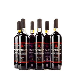 6x-750ml-Mavrodaphne-Loukatos-Rotwein-im-Set-15-Vol-griechischer-Swein-Likrwein-Dessertwein-2x-10ml-kretisches-Olivenl-Sachet-zum-testen-gratis
