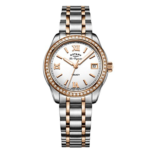 Rotary-Damen-Armbanduhr-Legacy-Analog-Quarz-LB9017501
