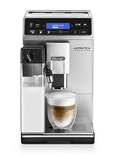DeLonghi-Autentica-Cappuccino-ETAM-29660SB-Kaffeevollautomat-1450-Watt-Digitaldisplay-integriertes-Milchsystem-Lieblingsgetrnke-auf-Knopfdruck-Herausnehmbare-Brhgruppe-silber