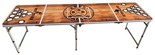 BeerBaller-PREMIUM-Beer-Pong-Tisch-Hochwertiges-Holzdesign-wasserabweisend- 6aec3340f