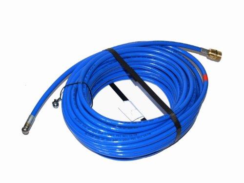 Rohrreinigungsschlauch-fr-Krnzle-Hochdruckreiniger-20m-M22x15-AG-blau-3-Strahl-hinten-1-Strahl-vor