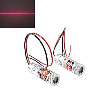 WayinTop-2-Stcke-Fokussierbare-Lasermodul-Strichlaser-Fokus-Einstellbar-Laser-Rot-3-5V-650nm-5mW-mit-Kunststoff-Linsen-Linienlaser