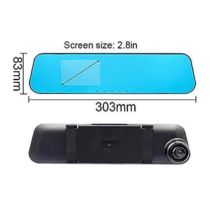 Godagoda-1pcs-Auto-Kamera-DVR-Recorder-Dash-Cam-Rckspiegel-Weitwinkel