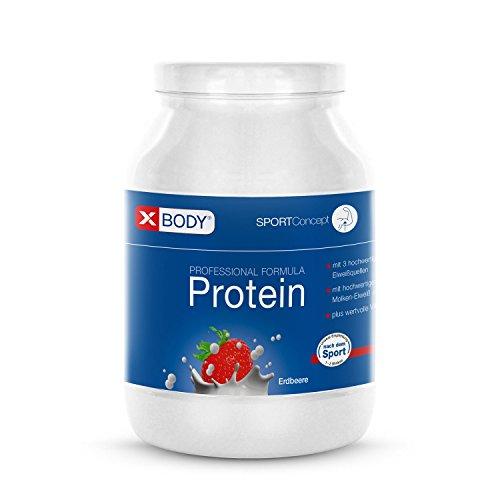 XBODY Professional Formula Protein Erdbeere, 750 g