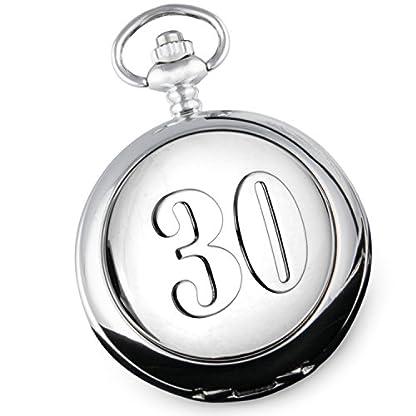 30-Hochzeitstag-Perlmutt-Taschenuhr-Perle-Hochzeit-Herren-Geschenk