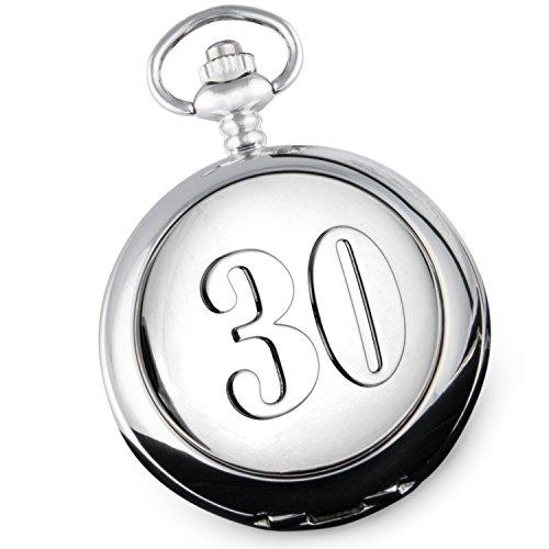 Gunstig Taschenuhr Zum 30 Hochzeitstag Perlmutt