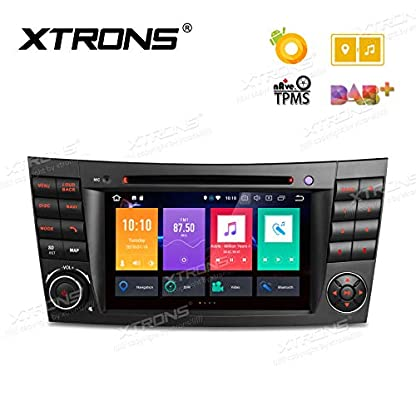 XTRONS-7-Android-Autoradio-mit-Touchscreen-DVD-Player-Android-80-Octa-Core-Auto-Autostereo-Multimedia-untersttzt-3G-4G-Bluetooth-4GB-RAM-32GB-ROM-DAB-OBD2-TPMS-FR-Mercedes-Benz