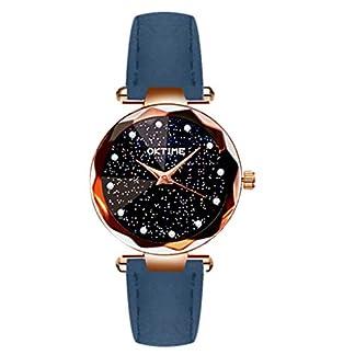 Uhr-Armbanduhren-Mnner-Damenuhren-Hansee-Damen-Kreative-Blatt-Mode-Grtel-Uhr-Studentin-Quarzuhr-Watch-Uhren-Herrenuhr