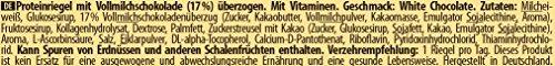 Inkospor X-Treme Protein Pack Riegel, White Chocolate, 24 x 35g