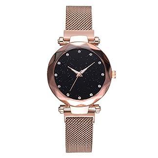 armbanduhren-fr-Damen-Mode-beilufige-Gurt-Uhr-analoge-Quarz-Maschen-Armbanduhr-eine-Freundin-EIN-kleines-Mdchen-Frau-Ihr-Freund-Javpoo