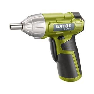 Extol-Craft-Akku-Schrauber-402113-Li-Ion-36-V-1300-mAh-4-Nm-LED-Licht-Batterieanzeige-1-W-36-V-grn