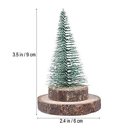 Amosfun-Plastic-Christmas-Tree-Schne-Kreative-knstliche-Solid-liefert-Baumschmuck-fr-Party-Weihnachtsdekoration-Home-Grn