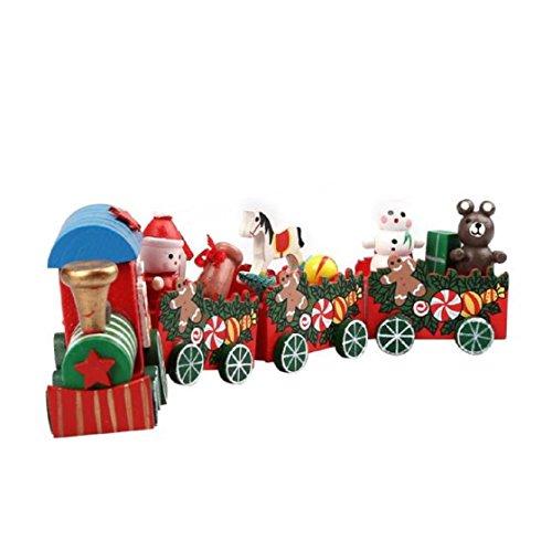 Vovotrade-4-Stck-Set-Holz-Weihnachtsweihnachts-Zug-Dekoration-Dekor-Geschenk