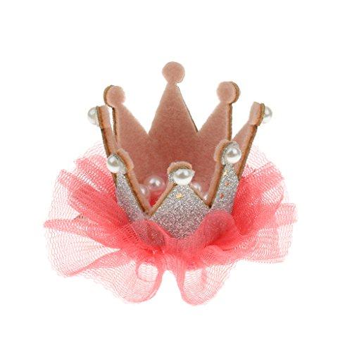 Blumenmädchen Kinder Geburtstagsparty Spitze Krone Tiara Haarband Haarspangen