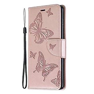 NEXCURIO-Galaxy-S10-S10-Plus-Hlle-Leder-Handyhlle-Tasche-Leder-Flip-Case-Brieftasche-Etui-mit-Kartenfach-Stofest-Schutzhlle-fr-Samsung-Galaxy-S10-S10Plus