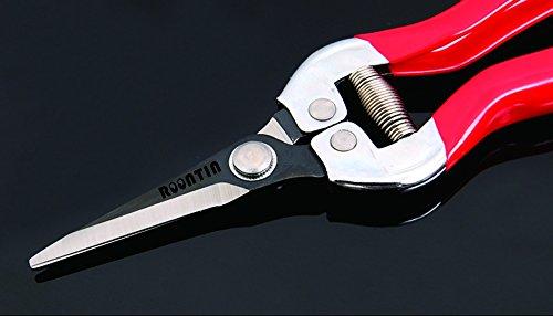 GartenschereSK-5-Stahlklingen-baumschere-mit-rutschfesten-ergonomischen-Griffen-und-Sicherheitsschloss-Beste-Bypass-Gartenschere-fr-Baumschneider-Schreiner-Handscheren-Bypass-Pruner-und-mehr