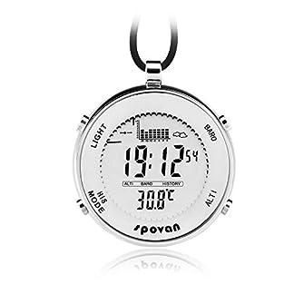 ZMCY-Taschenuhr-Spovan-SPV600-Outdoor-wasserdichte-Unisex-Taschenuhr-Digital-Track-Angeln-Barometer-Hhenmesser-Thermometer-Multifunktionsuhr