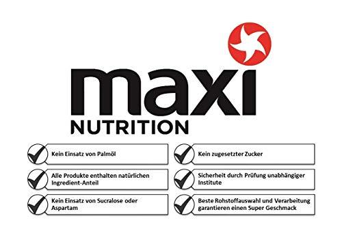 MaxiNutrition isotonisches Getränkepulver Zitrone – Iso Drink für langanhaltende Leistung beim Ausdauertraining – enthält Kohlenhydrate und Elektrolyte – 4er Pack (4 x10 Portionen)