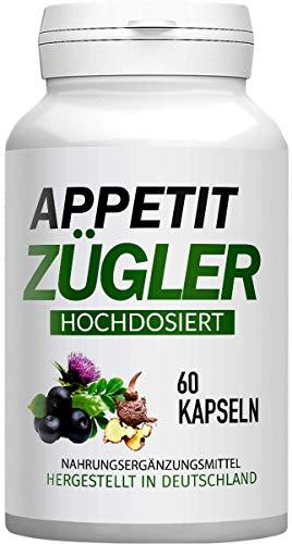 Appetitzügler – 60 Kapseln, Hergestellt in Deutschland