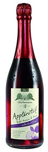BIO-6-Fl-Applritif-Apfel-Rose-mit-ARONIA-feinherb-ALKOHOLFREI-Obsthof-Clostermann-Neuhollandshof-Niederrhein-750-ml-mit-praktischen-DropStop